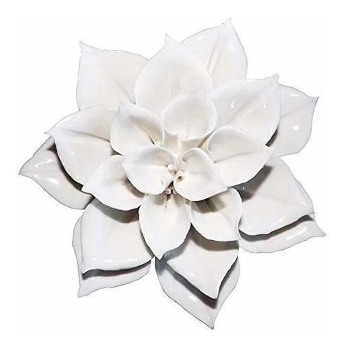 Alycaso Decoracion De Pared De Flores De Ceramica Arte De Pa