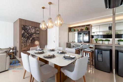 Imagem 1 de 30 de Apartamento Com 3 Dormitórios À Venda, 101 M² Por R$ 1.513.778,22 - Agronômica - Florianópolis/sc - Ap2639