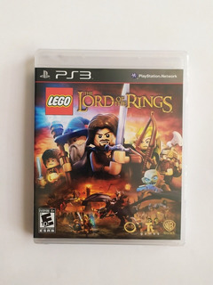 Lego Lord Of The Rings Juego Físico Original Ps3