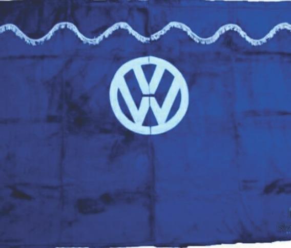Cortina Caminhão Vw Meio Cabine Em Pelucia. Varias Cores