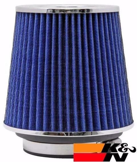 Filtro Ar Esportivo K&n Duplo Fluxo Ajustável Rg-1001bl