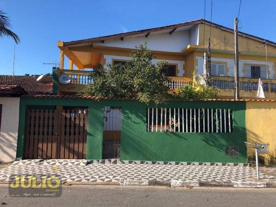 Entrada R$ 50 Mil + Saldo Super Facilitado. Sobrado Com 3 Dormitórios À Venda, 136 M² Por R$ 265.000 - Jardim Praia Grande - Mongaguá/sp - So0803