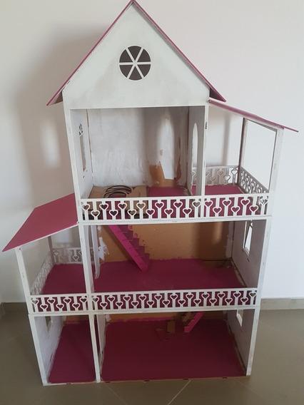 Casinha De Criança Menina De Brinquedo Pouco Uso