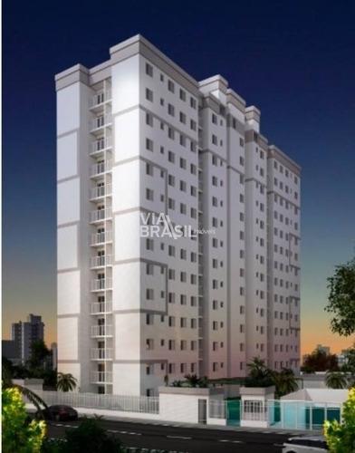 Imagem 1 de 13 de Apartamento Em Condomínio Padrão Para Venda No Bairro Centro, 2 Dorm, 1 Vagas, 53,91 M - 1065