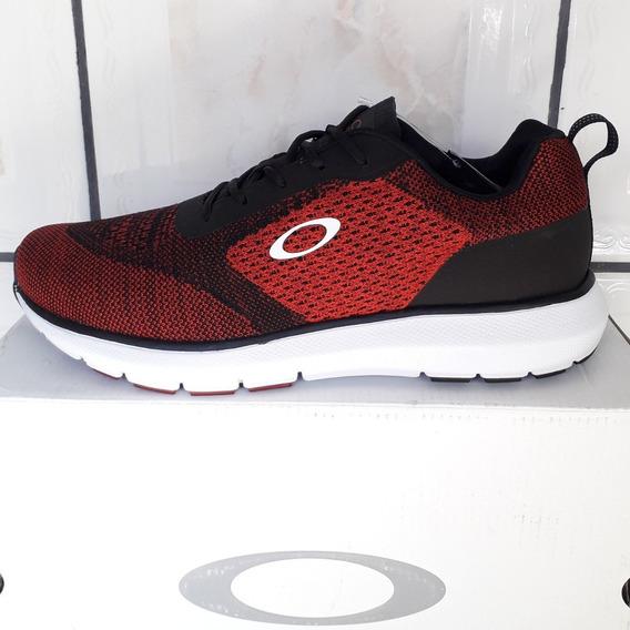 Tênis Oakley Icon Vermelho E Preto Masculino Original