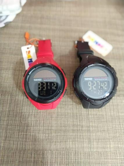 Relógio Solar Skimei (zero Lacrado)