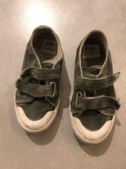 Zapatillas Con Velcro Mimo Talle 26
