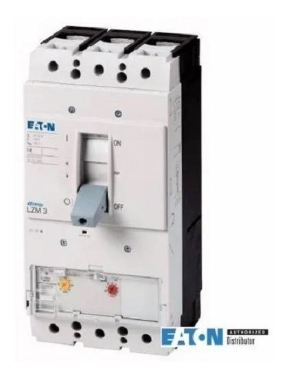 Disjuntor Caixa Moldada Eaton Lzmc3-a400 - Usado