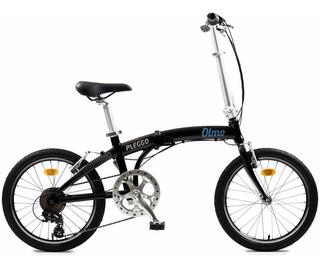 Bicicleta Plegable Olmo Aluminio Pleggo Sport R20 + Regalo