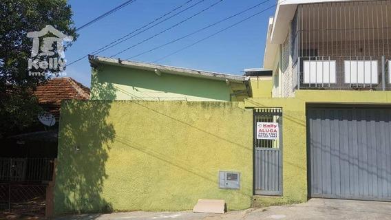 Edícula Com 1 Dormitório Para Alugar, 38 M² Por R$ 550,00/mês - Vila Marcondes - Presidente Prudente/sp - Ed0005