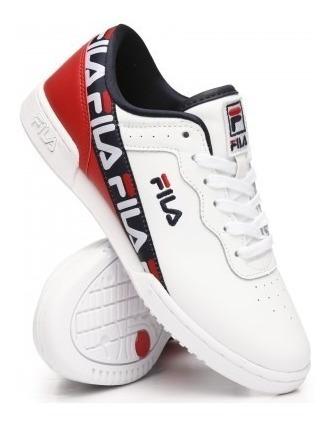 Tenis Fila Original Fitness Tape Blanco Unisex 5fm00074 125
