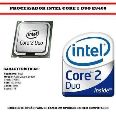 Core2duos E8400 3,0 Ghz