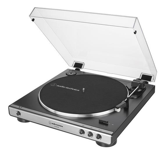 Toca-discos Audio-technica Automático At-lp60xusb-gm Grafite
