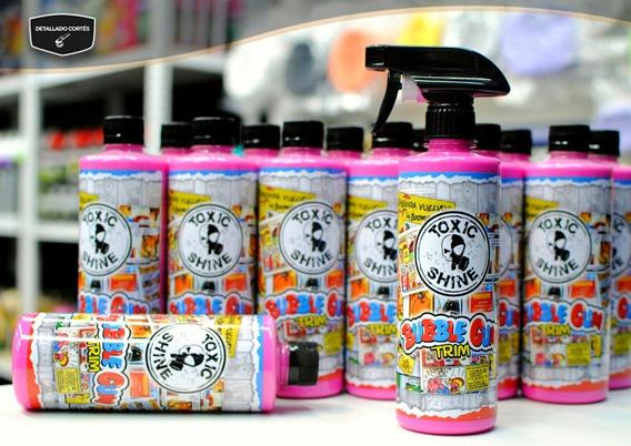 Bubble Gum Trim Acondicionador De Interior Toxic Shine 600cc