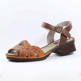 6483c3788d Sapato Boneca Marrom J. Gean Feminino Sandalias - Sapatos no Mercado ...