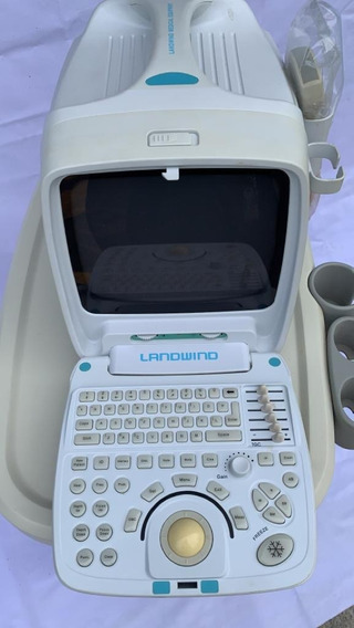 Ultrasonido Portátil Con Impresora Y Carro