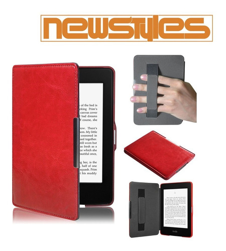 Capa Case Kindle Touch 8 Geração Slim Fit - Com Alça