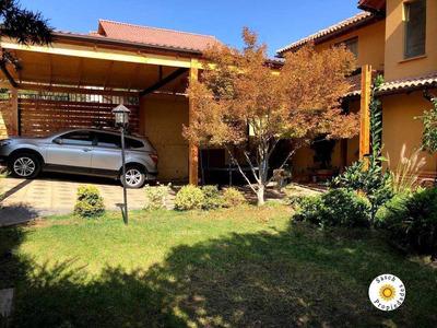 Acogedora Y Amplia Casa 5 Dormitorios En Condominio Ciudad De Los Valles