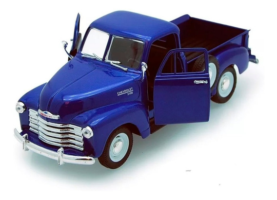 Welly Camioneta Chevrolet 1953 Escala 1:24 Metal Detalles