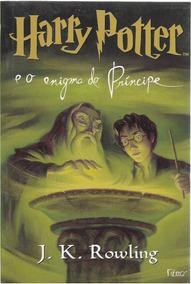 Livro Harry Potter E O Enigma Do Príncipe, J. K. Rowling