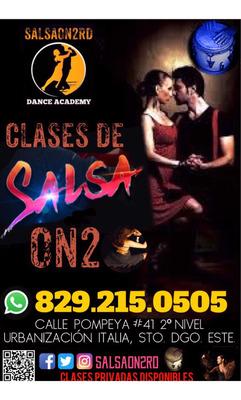 Aprenda A Bailar Salsa On2, Sto. Dgo. Este