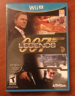 007 Legends Juego Nintendo Wii U James Bond Skyfall