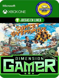 Sunset Overdrive Xbox One Modo Local + En Linea