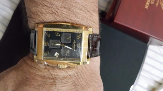 Relógio Jules Jurgensen 5001 Yg De Luxo - De Colecionador