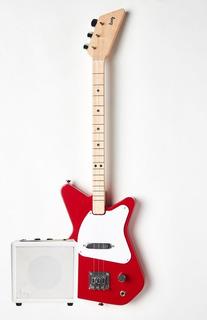 Guitarra Eléctrica Loog Pro De 3 Cuerdas Con Amplificador