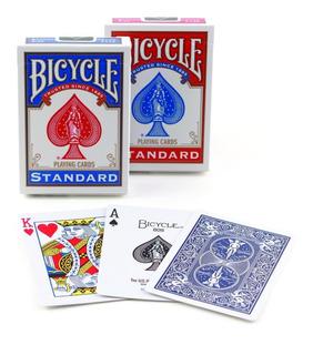 Cartas Baraja Bicycle Standard Poker Magia - Roja O Azul