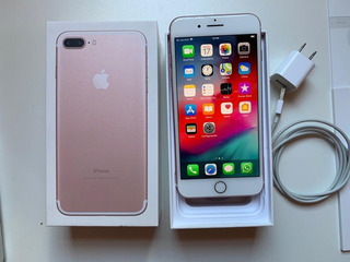 iPhone 7 Plus 256 Gb Rose Gold +funda De Regalo