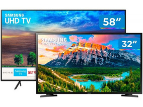 Smart Tv 4k Led 58 Samsung Un58nu7100gxzd - Wi-fi 3 Hdmi 2