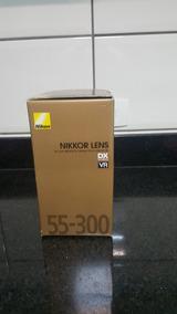 Lente Nikon 55-300 Na Caixa!!! Nunca Utillizada!!