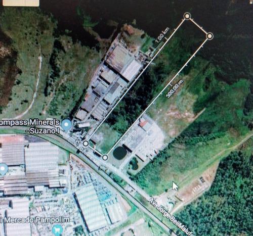 Área Industrial 73.900 M2 Vila Theodoro Suzano Tr-0038