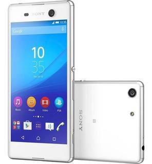 Smartphone Sony Xperia M5 Dual Chip E5643, 21mp, Tv - Branco