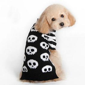 Roupa Pet Rock Caveira Alta Qualidade G Cão Gato Cachorro