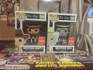 Funko Pop - Western Rick & Morty - Limited Edition