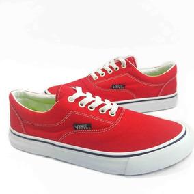 2be579656d7 Vans Authentic Vermelho - Sapatos no Mercado Livre Brasil