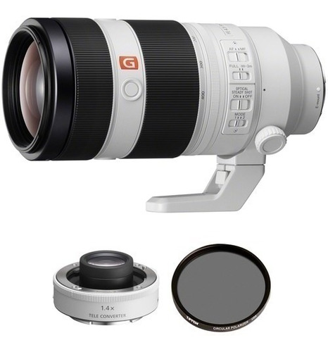 Sony Fe 100-400mm F/4.5-5.6 Gm Oss Lente 2x E Teleconverter