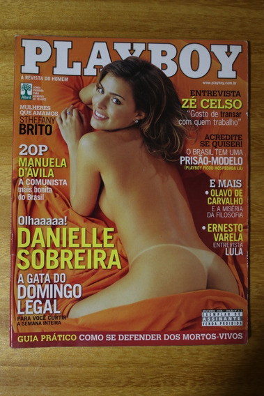 Revista Playboy - Ed. 377 11/2006 - Danielle Sobreira