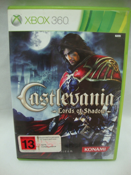 Jogo Castlevania Lords Of Shadow 1 Xbox 360 Original