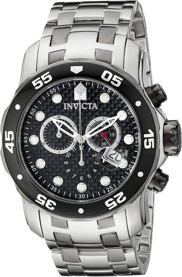 Relógio Invicta Pro Diver 14339 - Prata Original 100%