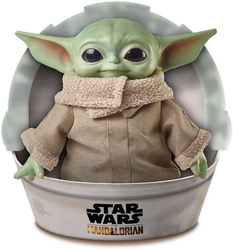 Imagen 1 de 5 de Peluche Baby Yoda The Child 30 Cm Star Wars Mandalorian Matt