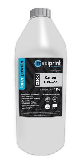 Polvo De Toner Maxiprint Compatible Canon Negro (gpr-22)