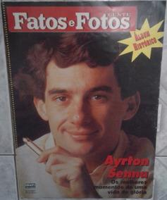 Revista Fatos E Fotos Com A Morte De Ayrton Senna
