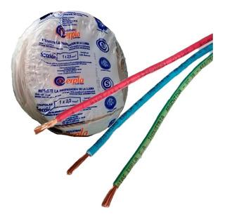 Cable Unipolar 2.5 Mm2 Nor. Iram Rollo X 100 Mts Erpla