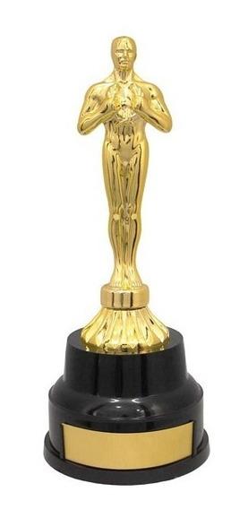 Trofeu 600030 Estatueta Oscar 23cm Gravacao Gratis