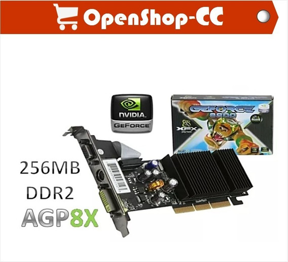 Tarjeta De Vídeo Geforce 6200 Le 256mb Ddr2 Xfx Play Hard