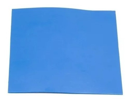 Thermal Pad Térmico Folha 10cmx10cmx1mm Carta Reg. Grátis
