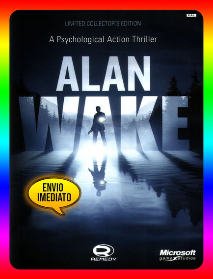 Alan Wake Collector Edition Pc - Steam Key (envio Já)